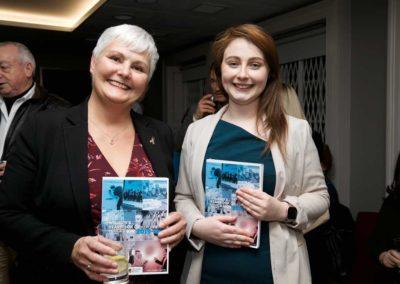 Dr Carol-Ann O'Síoráin and Ciara Fanning