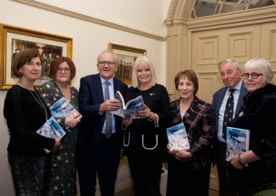 Dr Attracta Halpin, Dr Anne Looney, Dr Brian Mooney, Minister Mary Mitchell O'Connor, Phyllis Mitchell, Prof Maurice Manning, Prof Jane Ohlmeyer